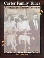 'Carter Family Tunes Arranged for the Fretted Dulcimer' Book Cover