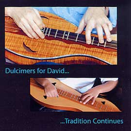 'Dulcimers for David' Album Cover
